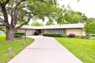 Cedar Park Single Family Home Pending - Taking Backups: 1639 Shenandoah Dr