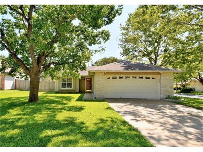 Austin Single Family Home Pending - Taking Backups: 2605 Cranbrook Cv