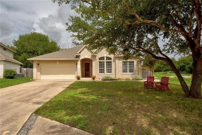 Austin Single Family Home For Sale: 2804 Clayera Cv