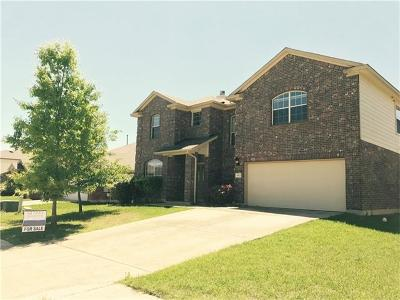 Pflugerville Single Family Home Active Contingent: 18621 Dry Brook Loop
