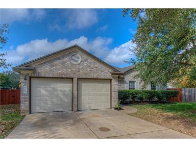 Cedar Park TX Single Family Home For Sale: $229,000