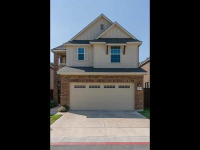 Cedar Park Single Family Home Pending - Taking Backups: 404 Buttercup Creek Blvd #18