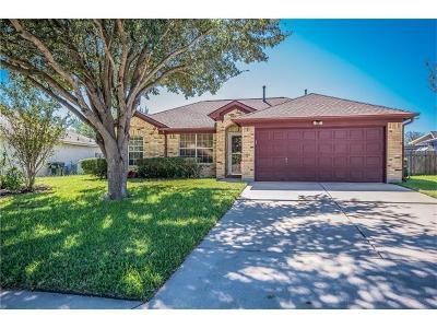 Kyle Single Family Home For Sale: 1401 Brandi Cir