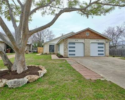 Round Rock Multi Family Home For Sale: 414 Cypress Ln