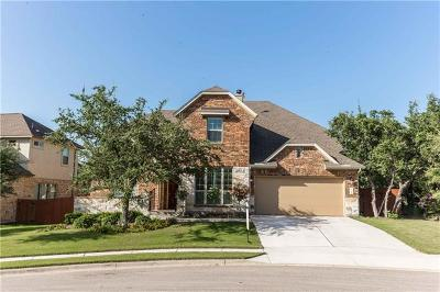 Cedar Park Single Family Home For Sale: 3306 Mystic Summit Dr