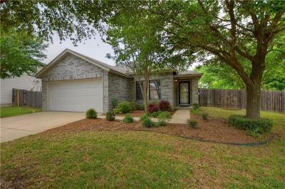 Round Rock Single Family Home Pending - Taking Backups: 1610 S Water Spaniel Way N