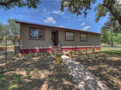 Burnet County Single Family Home For Sale: 107 Cedar Hill