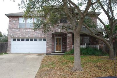 Cedar Park Single Family Home For Sale: 1913 Carriage Club Dr