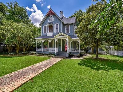Georgetown Single Family Home For Sale: 1404 S Elm St