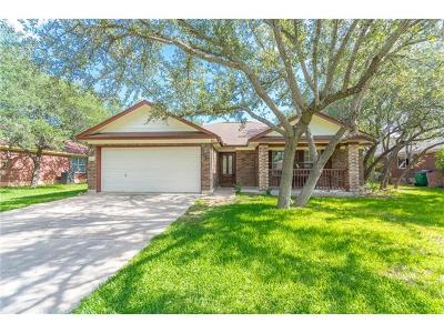Cedar Park Single Family Home For Sale: 1300 Cedar Hills Blvd