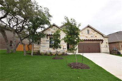 Round Rock Single Family Home For Sale: 3934 Sansome Ln