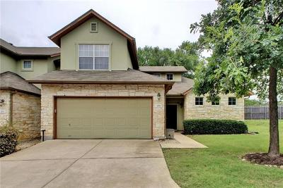 Round Rock Condo/Townhouse For Sale: 2410 Great Oaks Dr #204