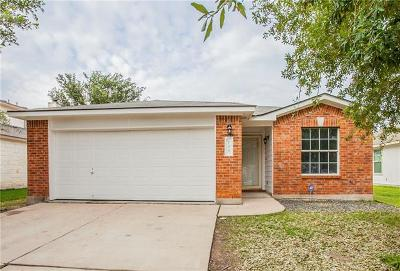 Hutto Single Family Home For Sale: 106 Ryan Cv