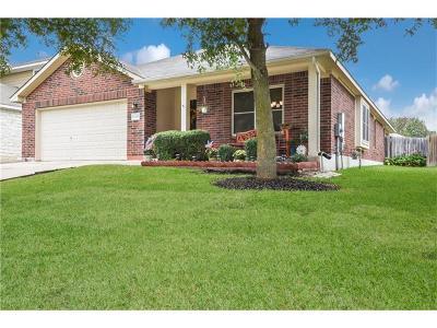 Cedar Park Single Family Home For Sale: 1219 Mathias St