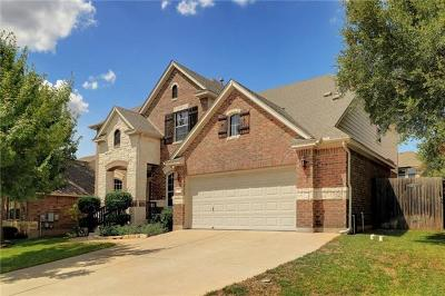Cedar Park Single Family Home For Sale: 702 S Frontier Ln