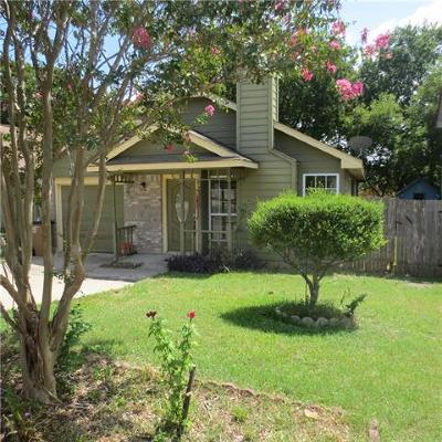Austin TX Single Family Home For Sale: $210,000