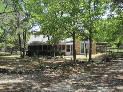 Georgetown Single Family Home Pending - Taking Backups: 102 Comanche Trl