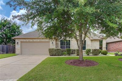 Round Rock Single Family Home Pending - Taking Backups: 3010 Stonecreek Dr