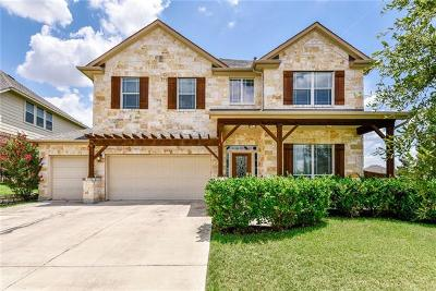 Round Rock Single Family Home For Sale: 4377 Green Tree Dr