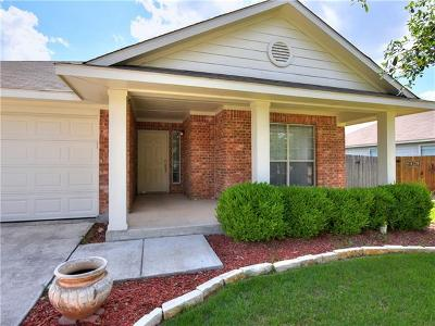 New Braunfels Single Family Home Pending - Taking Backups: 2626 White Wing Way