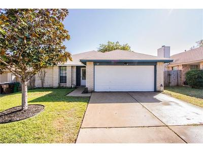Round Rock Single Family Home Pending - Taking Backups: 707 David Curry Dr