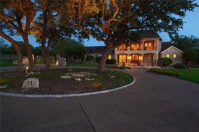 Dripping Springs TX Single Family Home For Sale: $1,000,000