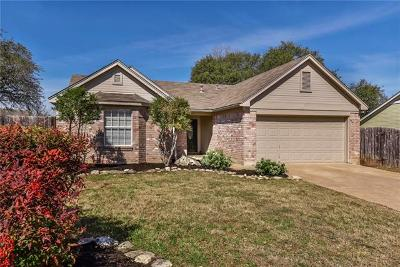 Cedar Park TX Single Family Home Pending - Taking Backups: $239,000