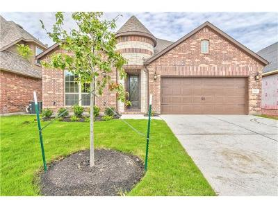 Leander Single Family Home For Sale: 1305 Mustang Brook Ln