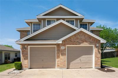 Round Rock Multi Family Home For Sale: 2875 Southampton Way