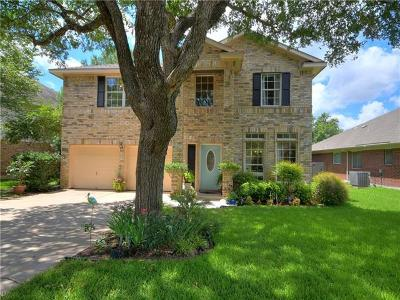 Round Rock Single Family Home For Sale: 4228 Kingsburg Dr