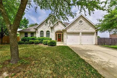 Pflugerville Single Family Home Pending - Taking Backups: 725 Stansted Manor Dr