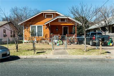 Travis County Single Family Home Pending - Taking Backups: 908 Fiesta St