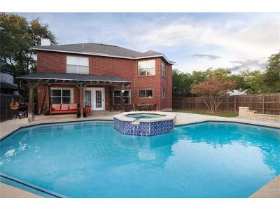Cedar Park Single Family Home For Sale: 1112 Welch Way
