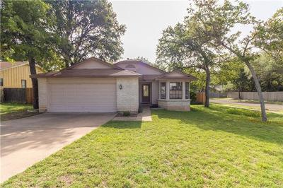 Cedar Park TX Single Family Home For Sale: $224,700