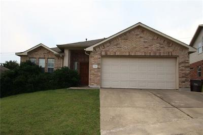 Round Rock Single Family Home For Sale: 1568 Haynie Bnd