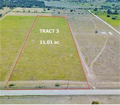 Bell County, Burnet County, Coryell County, Lampasas County, Llano County, Mills County, San Saba County, Williamson County, Hamilton County Residential Lots & Land For Sale: 2483 County Road 219