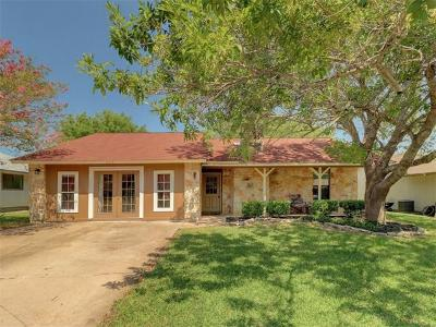 Round Rock Single Family Home For Sale: 804 Fieldstone Pl