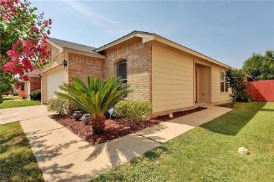 Hays County, Travis County, Williamson County Single Family Home Pending - Taking Backups: 12521 La Paz Ln
