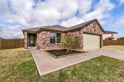 Round Rock Single Family Home Pending - Taking Backups: 1408 Champion Dr