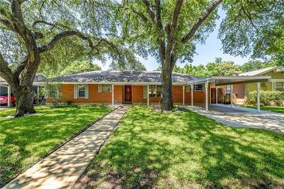 Austin Single Family Home For Sale: 1609 Ashberry Dr