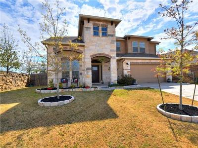 Leander Single Family Home For Sale: 708 Sawyer Trl