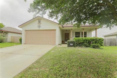 Hutto Single Family Home For Sale: 605 Losoya Ct