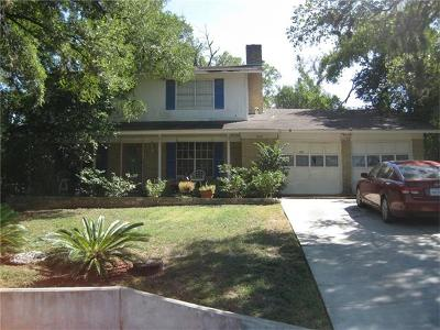 Austin Single Family Home For Sale: 3007 Northeast Dr