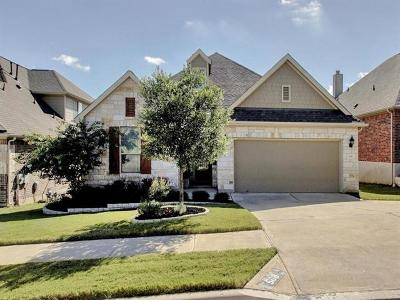 Cedar Park Single Family Home Pending - Taking Backups: 508 Walsh Hill Trl