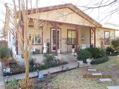 Georgetown Single Family Home Pending - Taking Backups: 802 W 8th St