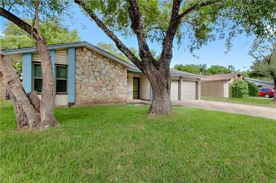 Hays County, Travis County, Williamson County Single Family Home Pending - Taking Backups: 4908 Scarsdale Dr