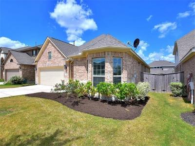 Leander Single Family Home For Sale: 2821 Coral Valley Dr