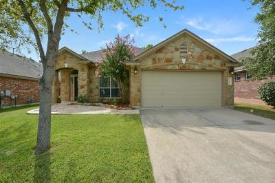 Hays County, Travis County, Williamson County Single Family Home Pending - Taking Backups: 10416 Big Thicket Dr