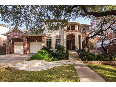 Cedar Park Single Family Home Pending - Taking Backups: 2704 Orsobello Pl