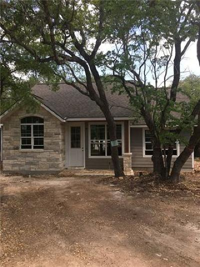 Wimberley TX Single Family Home Pending - Taking Backups: $215,000